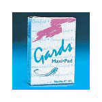 Hospeco 8-248 Gards Unfolded Maxi Pads Sanitary Napkins