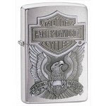 Zippo Brushed Chrome, HD Made In The USA Eagle