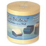 "Zip Notes Refill, 3""x150', Tan"