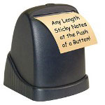 "Zip Notes Executive Dispenser, Battery Operated, 5""x4-1/2""x5-1/2"", DBE"