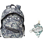 ZIPIT Grillz Backpack/Case, 2Pcs, 12/ST, Gray Camouflage