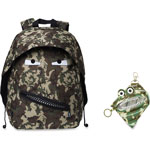 ZIPIT Grillz Backpack/Case, 2Pcs, 12/ST, Green Camouflage