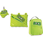 ZIPIT Talking Monstar Lunch Bag Set, 3PC, Lime