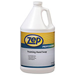 Zep Inc. Antibacterial Foaming Hand Soap, Floral Scent, 1 gal Bottle, 4/Carton