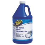 Zep No-Rinse Floor Disinfectant, 1 gal Bottle