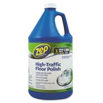 Zep High Traffic Floor Polish, 1 gal Bottle