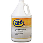 Zep Z-Tread Floor Stripper, Heavy Duty, 1 Gallon, 4/CT, Clear