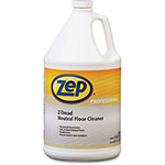 Zep Z-Tread Floor Cleaner, 1 Gallon, 4/CT, Green