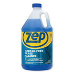Zep Glass Cleaner, Streak-Free, Fast Drying, 1Gal, 4/CT