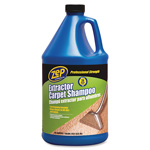 Zep Carpet Shampoo, Hvy-Duty, 1 Gallon, Blue