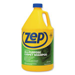 Zep Carpet Shampoo, Concentrate, 1 Gallon, 4/CT, Blue