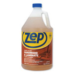 Zep Floor Cleaner for Hardwood/Laminate, Refill, 1Gal, 4/CT