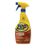 Zep Floor Cleaner for Hardwood/Laminate, Spray, 32 oz., 12/CT