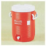 Manufacturing Insulated Beverage Container/Water Cooler, Orange, 5 Gallon