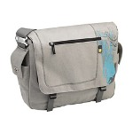 "Caselogic 15.4"" Canvas Messenger Bag - Notebook carrying case - 15.4"" - gray"