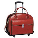 McKlein W Series GLEN ELLYN - Notebook Carrying Case, Red