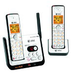 AT&T CL82209 DECT 6.0 Digital Dual Handset Answering System with Caller ID/Call Waiting