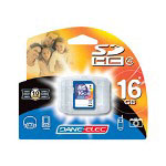 Dane-Elec flash memory card - 16 GB - SDHC