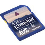 Kingston Flash Memory Card - 8 GB - SDHC