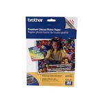 Brother BP 61GLL Premium Glossy Photo Paper - glossy photo paper - 20 sheet(s)