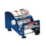 "Box Partners 6"" Multi Roll Table Top Label Dispenser"