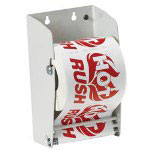 "Box Partners 4 1/2"" Wall Mount Label Dispenser"