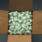 Box Partners 7 Cubic Foot Bag White Packing Peanuts