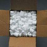 Box Partners 7 Cubic Foot Bag Pink Anti Static Packing Peanuts