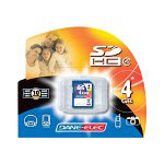 Dane-Elec flash memory card - 4 GB - SDHC