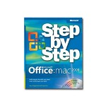 Microsoft Office 2008 for Mac - Step by Step - self-training course - CD - English