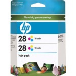 HP CD995FN#140 No. 28 Print CartridTwinpack