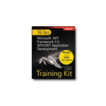 Microsoft MCTS Self-Paced Training Kit (Exam 70-561): .NET Framework 3.5 ADO.NET Training Kit self-training course