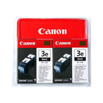 Canon BCI 3E Twin Black Pack - ink Tank