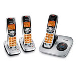 Uniden DECT1560-3 DECT 6.0 Cordless Phone with Caller ID and Two Extra Handsets and Charging Cradles