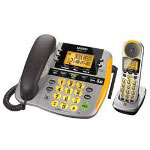 Uniden CEZAi2998 - cordless phone base station w/ corded handset, answering system & call waiting caller ID