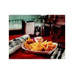 "Chinet JURY Savaday Food Trays 5"" x 3 1/2"""