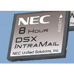 NEC DSX IntraMail 4 x 8 w/4 Voice Mail Ports & 8 Hours of Message Storage