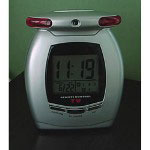 P3 International TV Remote Control Clock