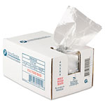 "Inteplast Plastic Food Bags, 4"" x 2"" x 8"", Case of 1000"