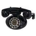 Paramount Collections Classic Christie 1921A Decorator Phone Black
