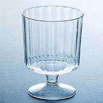 AE Catering 5.5 Oz Hot/Cold Plastic Tumblers, Clear, Pack of 240