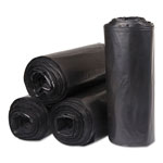 "Inteplast Low Density Black Trash Bags, 33 Gallon, 30"" X 39"", 10 Packs of 25"