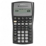 Texas Instruments  BAII-PLUS Handheld Financial Calculator with Slide Case