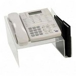 Victor Clear Phone Stand with Organizer