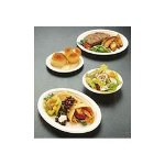 "Chinet Disposable 6.75"" Paper Plates, White, Case of 1,000"