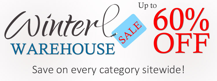 Winter Warehouse Sale | Up to 60% off!