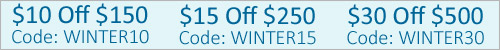 Winter Savigns Deals