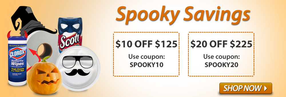 Take advantage of spooky savings with two great deals!