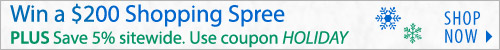 Win a $200 Shopping Spree Plus Save 5% sitewide!