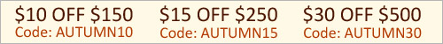 Autumn Savings